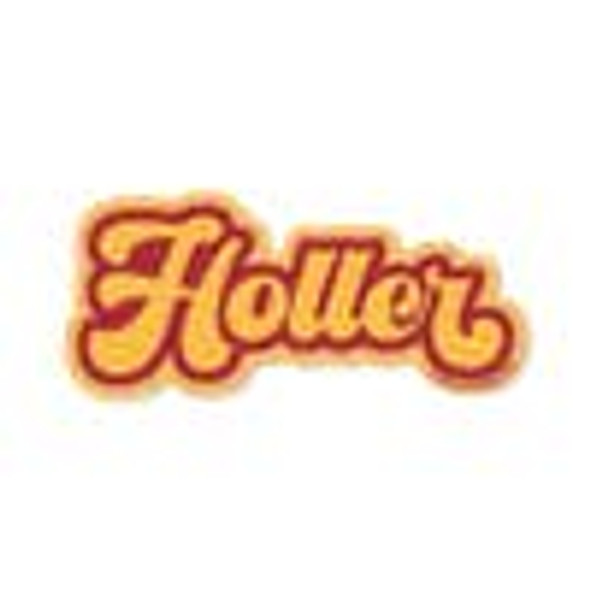 Holler Sticker