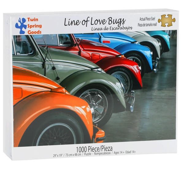 Line of Love Bugs 1000pc Puzzle