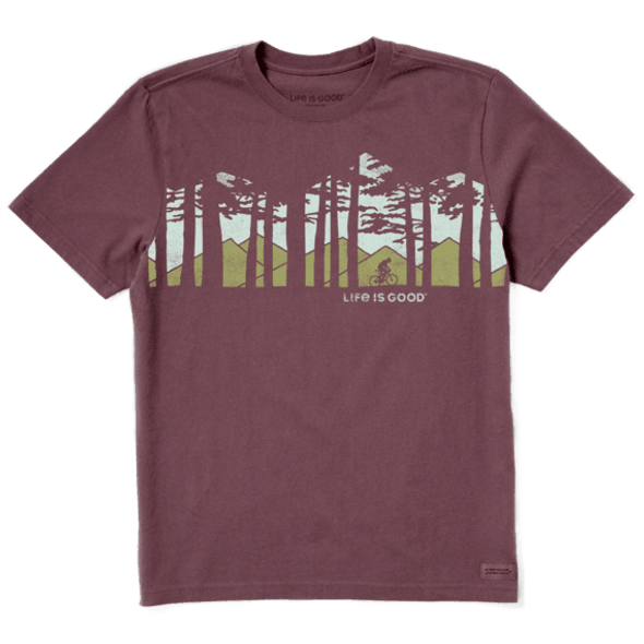 Men's Ride in the Woods SS-Tee