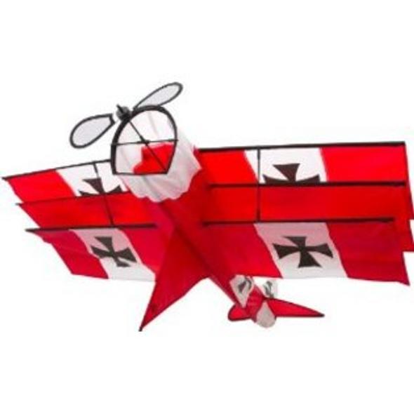 Red Baron single line Kite
