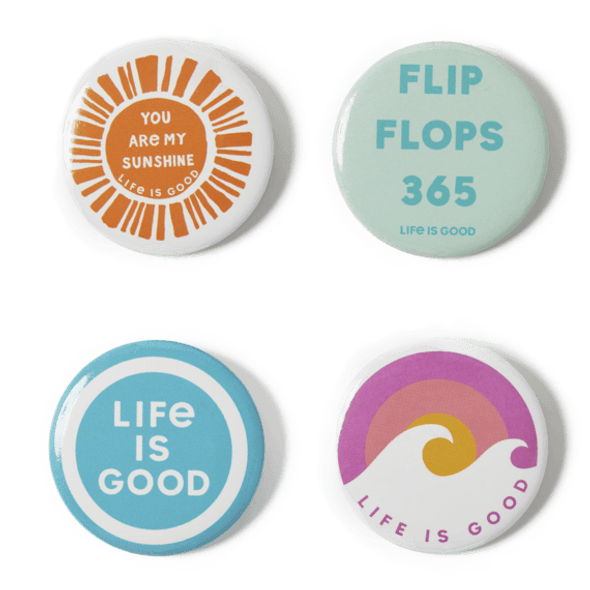 Flip Flops Positive Pins 4-Pack