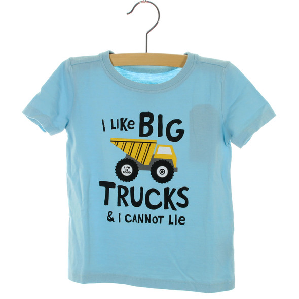 Toddler I Like Big Trucks tee