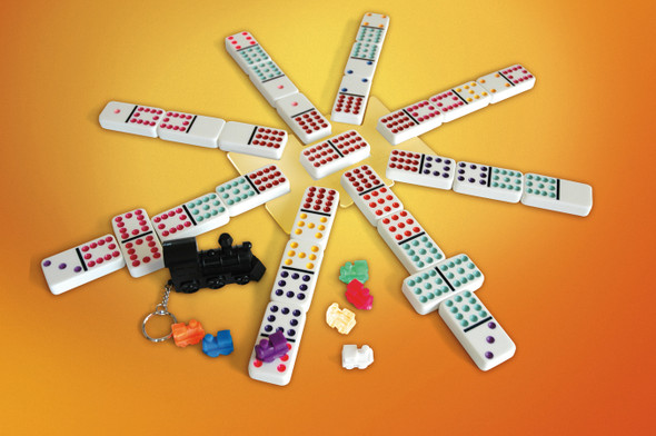 Mexican Train Number Dominoes
