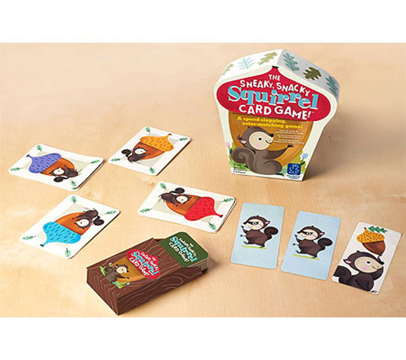 Sneaky, Snacky Squirrel Card Game