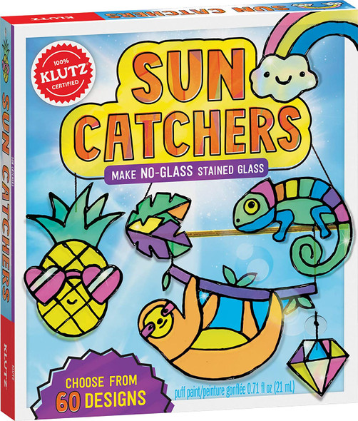Make No-Glass Stained Glass Sun Catchers