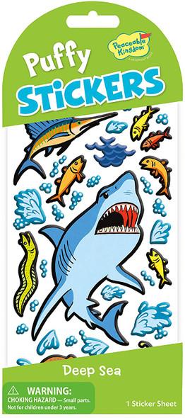 Deep Sea Puffy Stickers