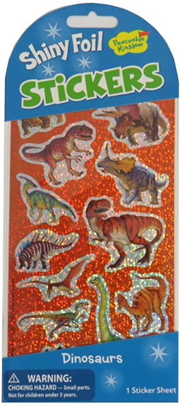 Dinosaurs Shiny Foil Stickers