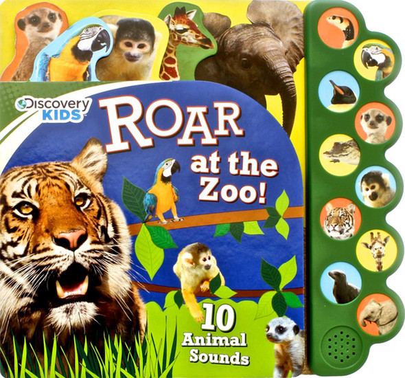 Roar At The Zoo book