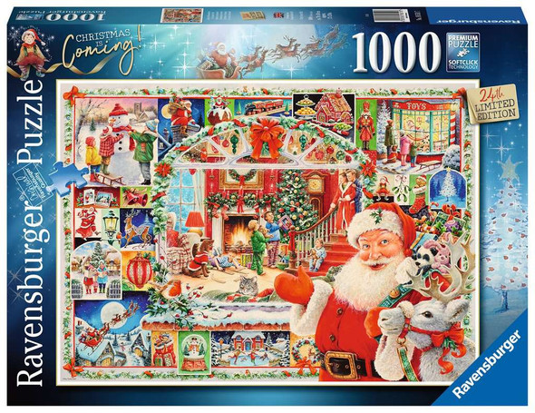 Christmas Is Coming 1000 pc Puzzle