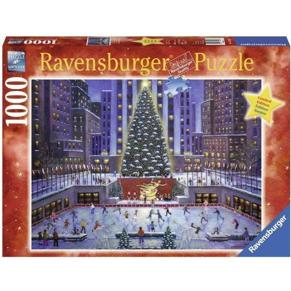 Rockefeller Center Tree 1000pc Puzzle
