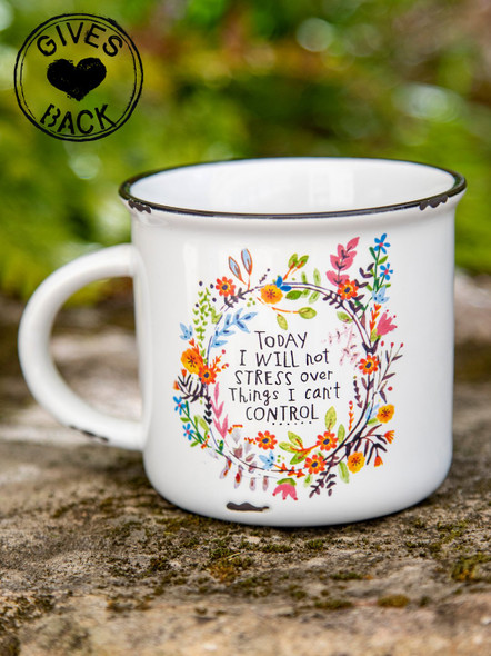 Will Not Stress Coffee Mug
