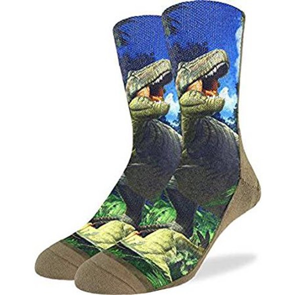 T-Rex Dinosaur Socks