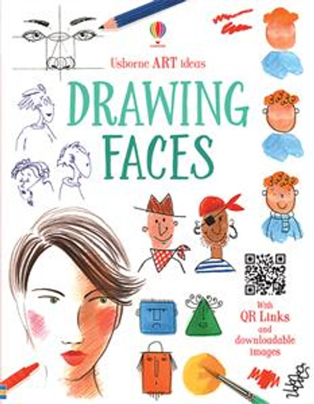 Drawing Faces book