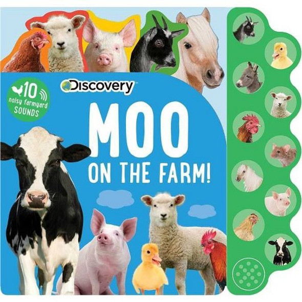 Moo On The Farm book