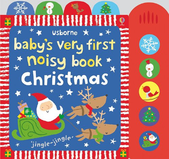 Baby's Very First Noisy Book - Christmas