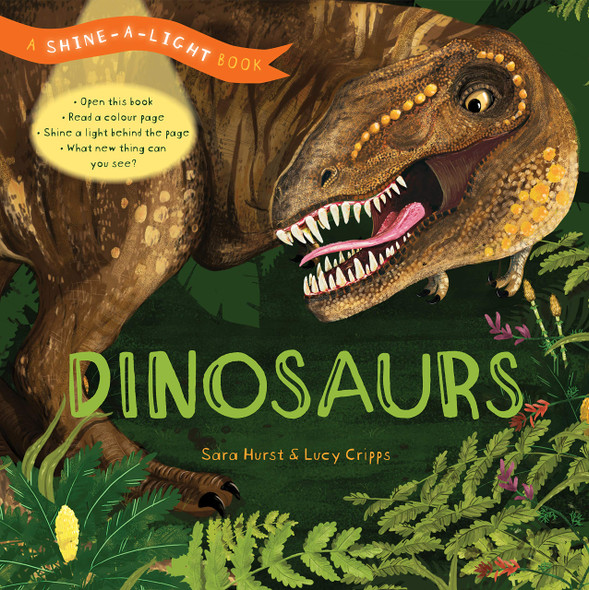 Dinosaurs Shine a Light Book