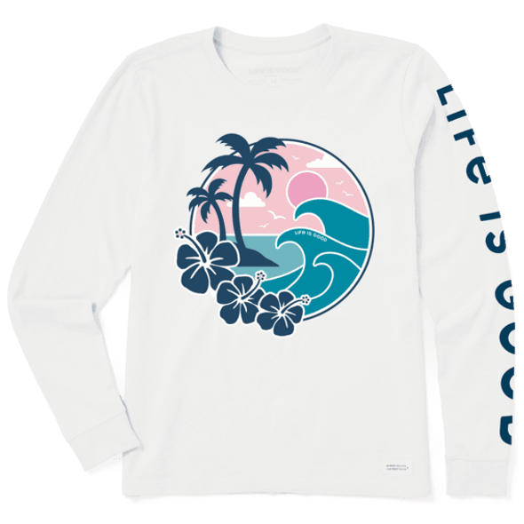 Big Waves Crusher Long Sleeve Tee