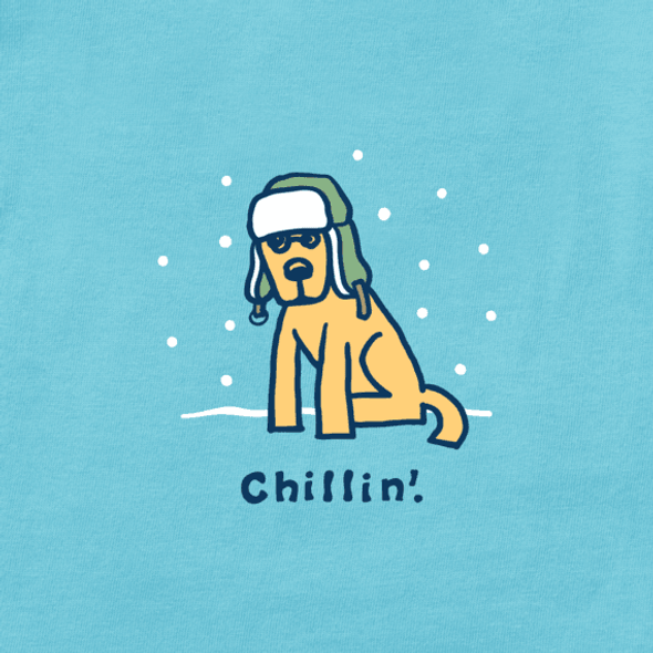 Chillin' with Rocket LS women's tee