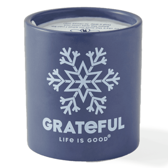 Grateful Life is Good Candle