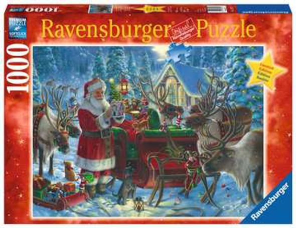 Packing the Sleigh 1000pc Puzzle