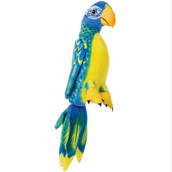 Blue Parrot Plush