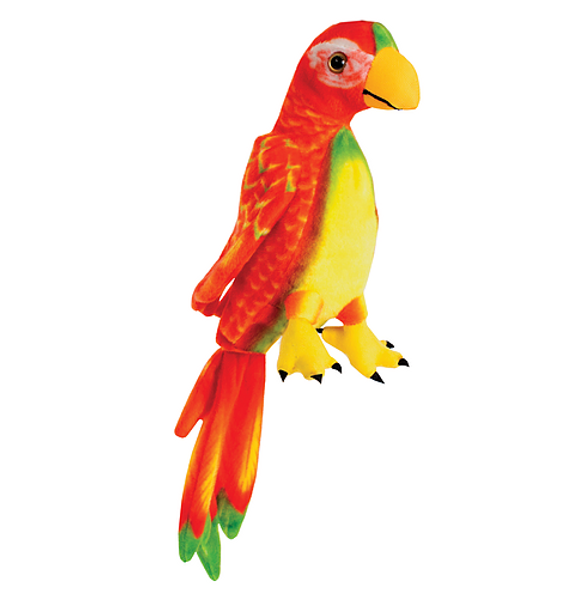 Red Parrot Plush