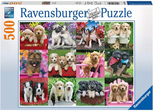 Puppy Pals 500pc Puzzle