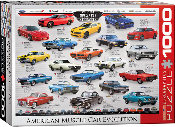 American Muscle Car 1000pc Puzzle