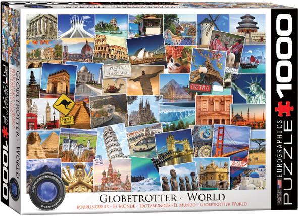 World Globetrotter 1000 pc Puzzle