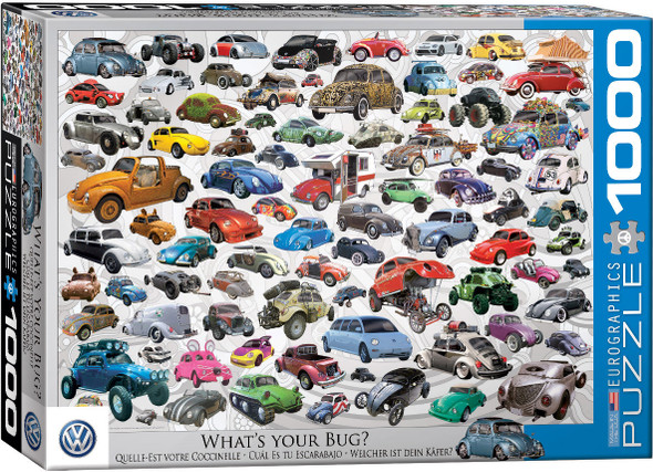 What's Your Bug 1000pc Puzzle