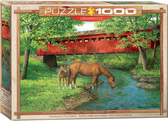 Sweet Water Bridge 1000pc Puzzle