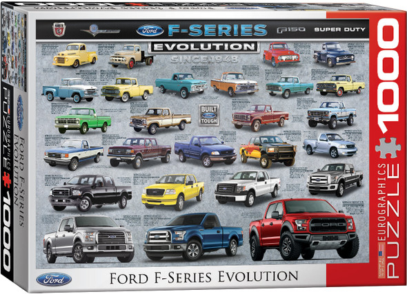 Ford F-Series Evolution 1000pc Puzzle