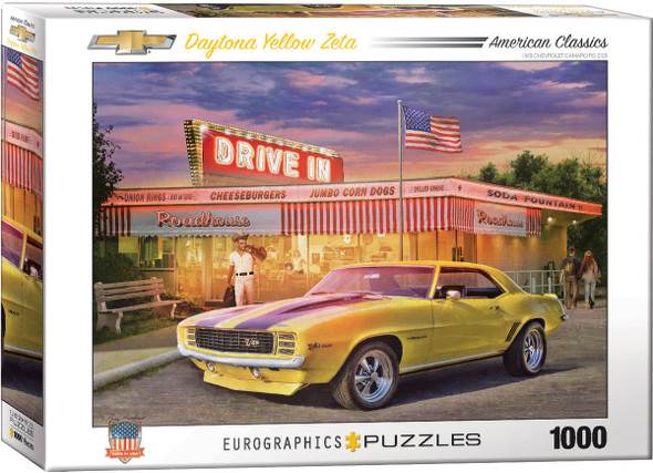 Daytona Yellow Zeta 1000pc Puzzle