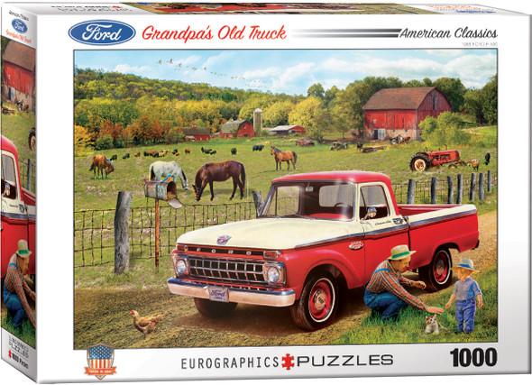 Grandpa's Old Truck 1000pc Puzzle
