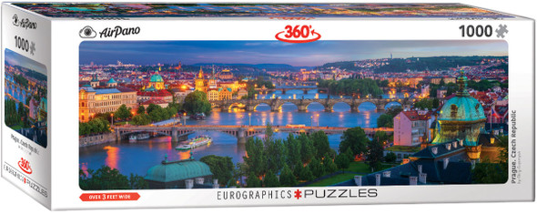 Prague Czech Republic 1000pc Puzzle