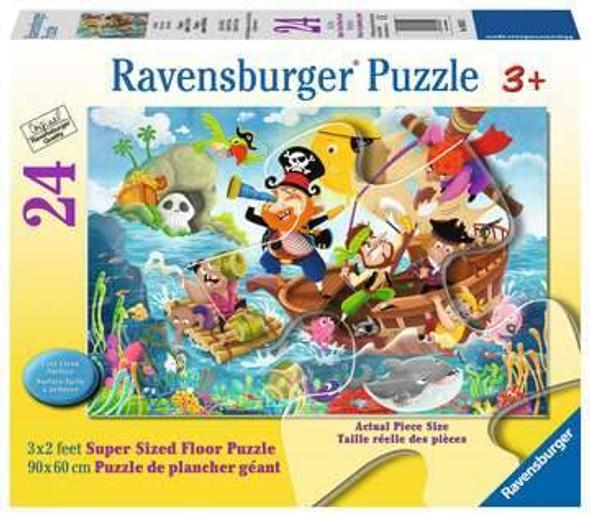 Land Ahoy 24pc Super Sized Floor Puzzle