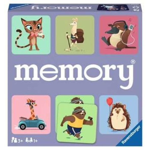 Wild World Animals Memory Game