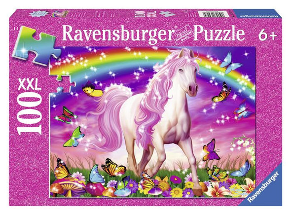 Horse Dream Glitter 100pc Puzzle