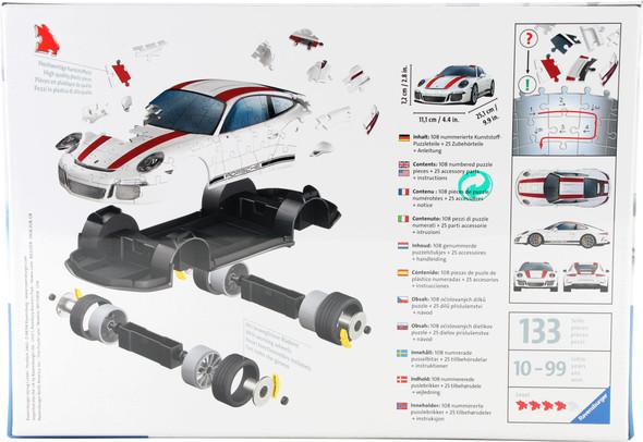 3D Porsche 108pc Puzzle