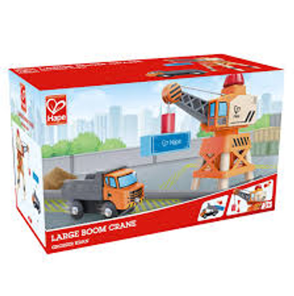 Large Train Boom Crane