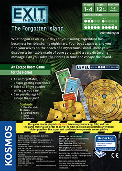 Exit: Forgotten Island Game