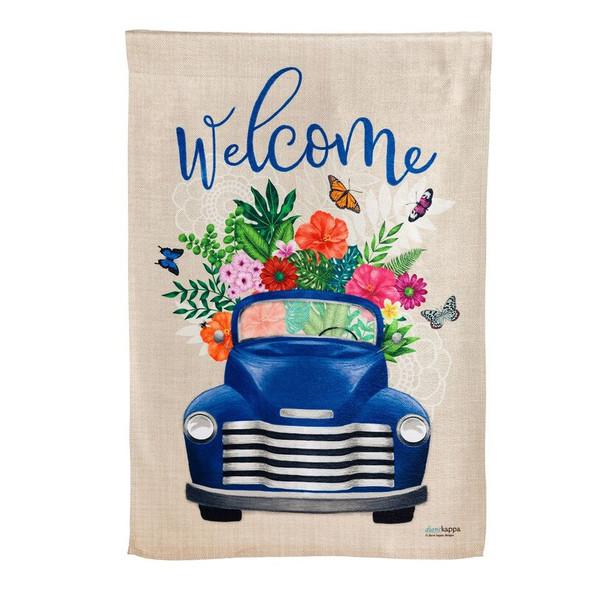 Flower Delivery Garden Banner