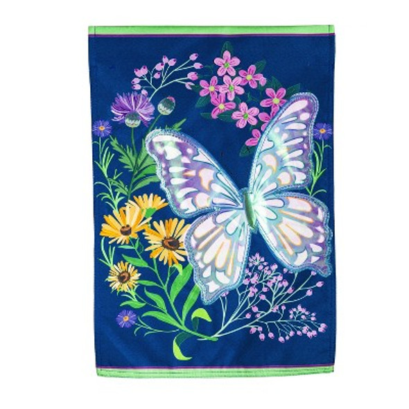 Butterfly Meadow Garden Banner