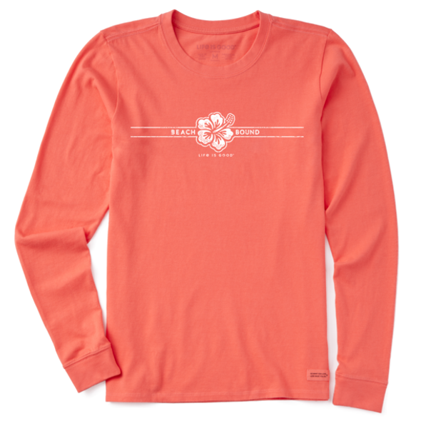 Beach Bound women's long sleeve tee