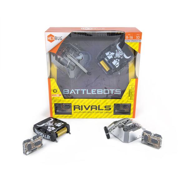 Hexbug Battlebot Beta & Minotaur Rivals