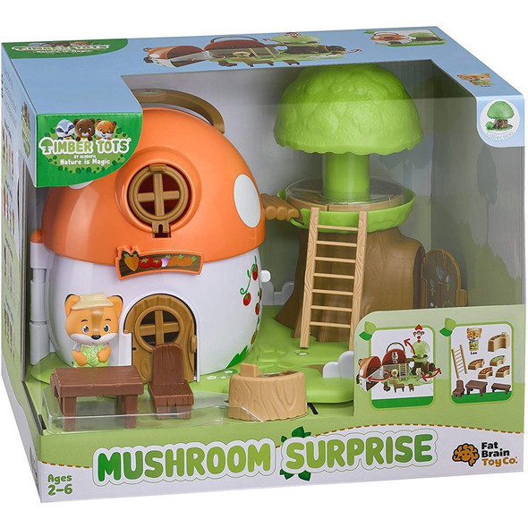 Timber Tots Mushroom Surprise