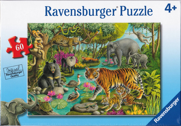 Animals of India 60pc puzzle