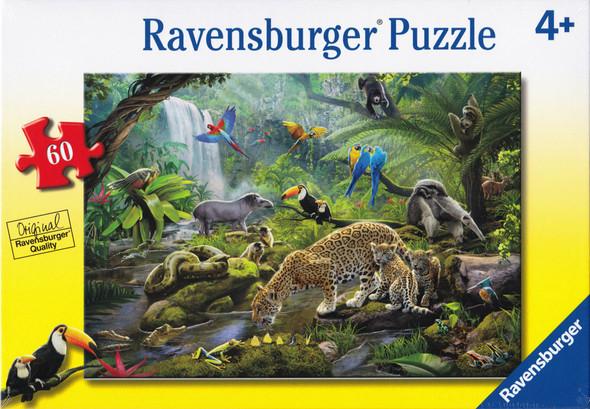 Rainforest Animals 60pc puzzle