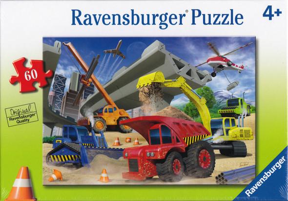 Construction Trucks 60pc puzzle