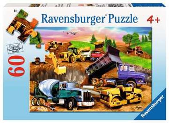 Construction Crowd 60pc Puzzle
